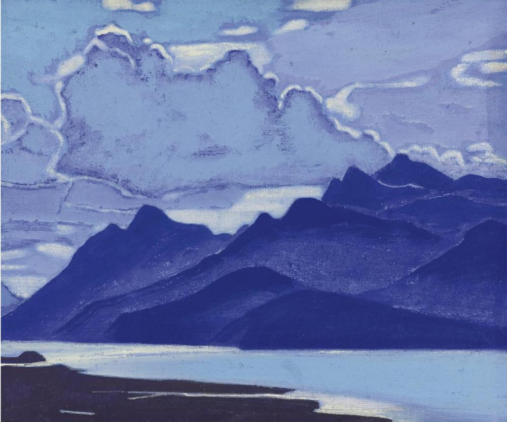 Nicholas Roerich, Moğolistan, Kanvas Tablo, Nicholas Roerich, kanvas tablo, canvas print sales