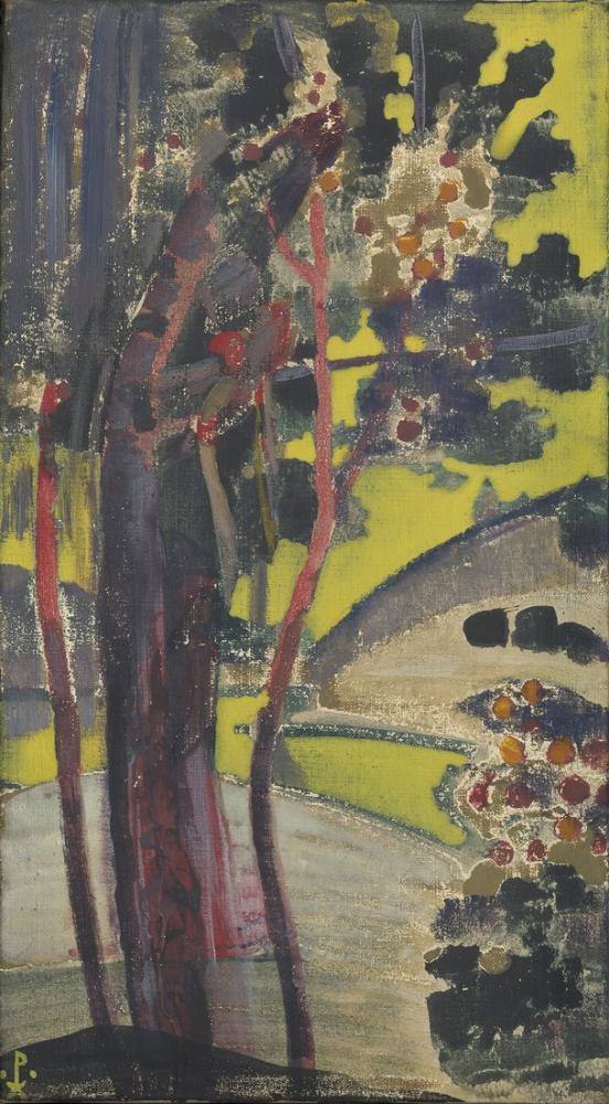 Nicholas Roerich, Trees by a Lake, Canvas, Nicholas Roerich, kanvas tablo, canvas print sales
