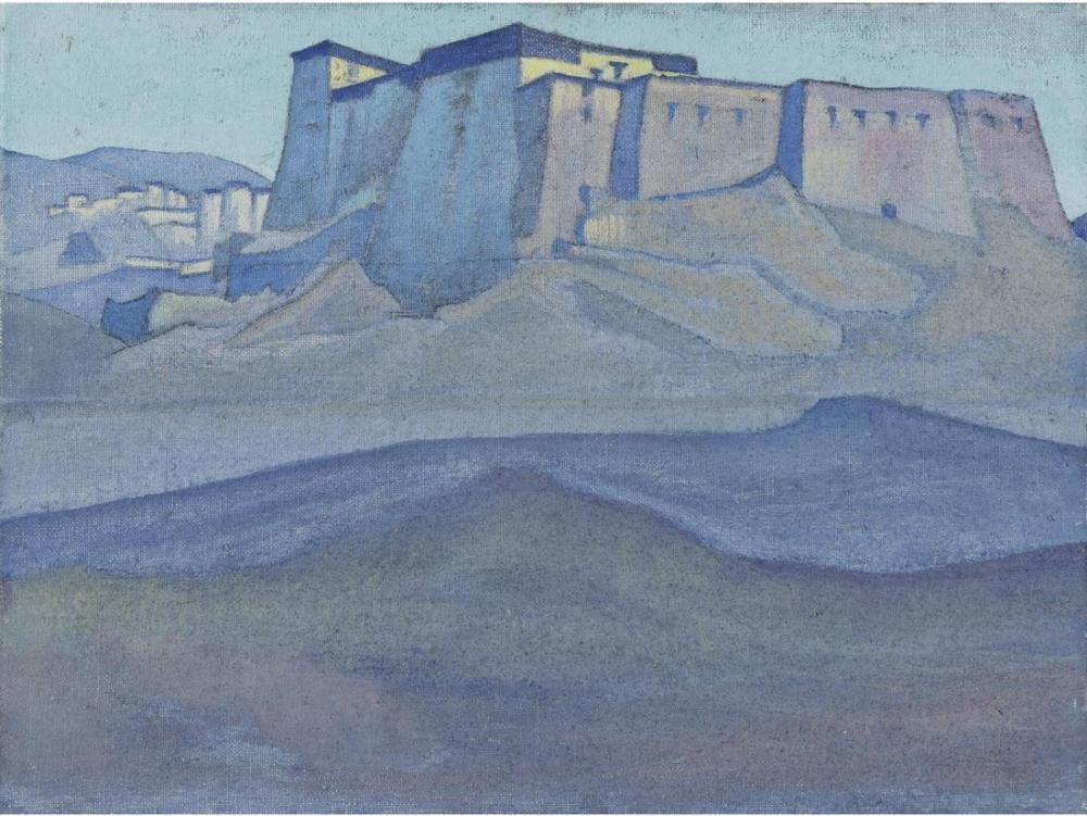 Nicholas Roerich, Dzong, Kanvas Tablo, Nicholas Roerich, kanvas tablo, canvas print sales