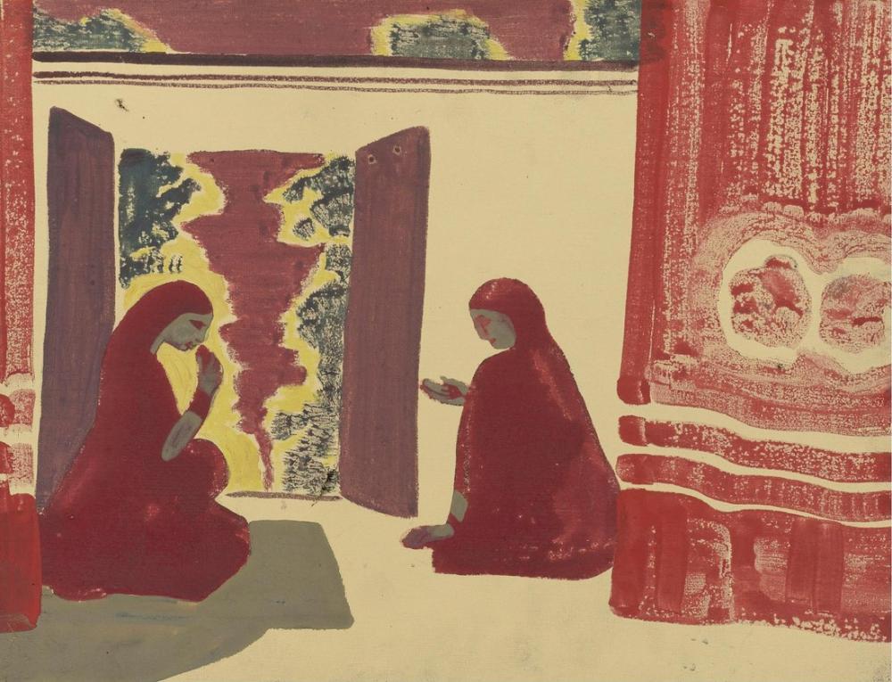 Nicholas Roerich, Pers Tiyatrosu, Figür, Nicholas Roerich, kanvas tablo, canvas print sales