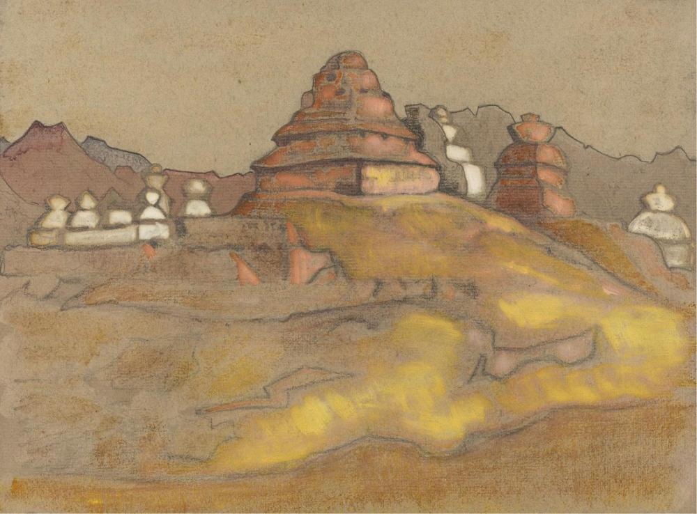 Nicholas Roerich, Ladakh, Kanvas Tablo, Nicholas Roerich, kanvas tablo, canvas print sales