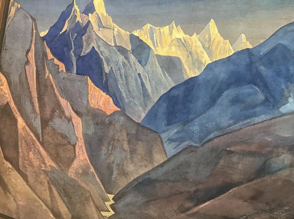 Nicholas Roerich, The Crimean Landscape, Canvas, Nicholas Roerich, kanvas tablo, canvas print sales