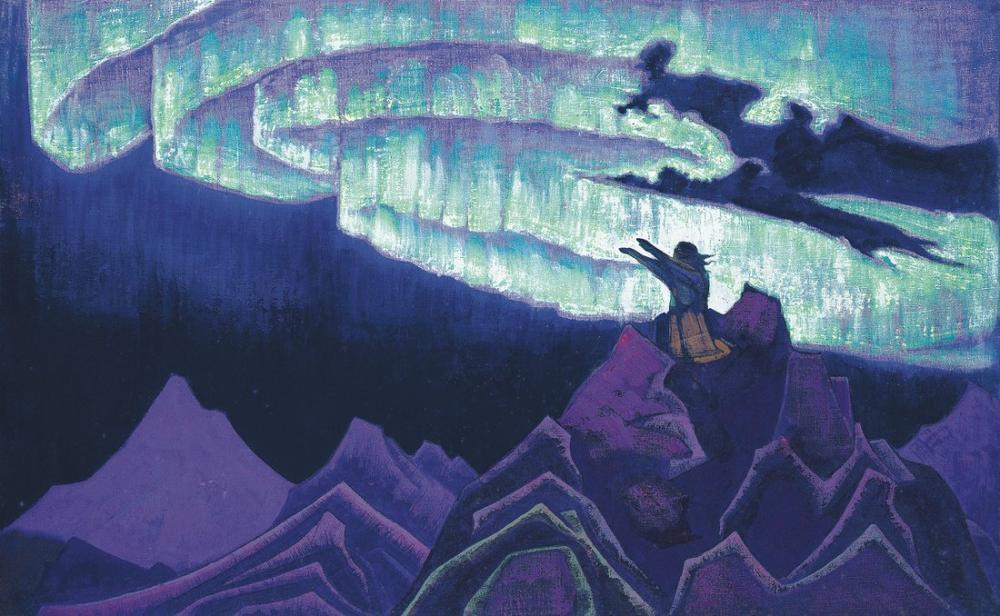 Nicholas Roerich, Lider Musa, Figür, Nicholas Roerich, kanvas tablo, canvas print sales