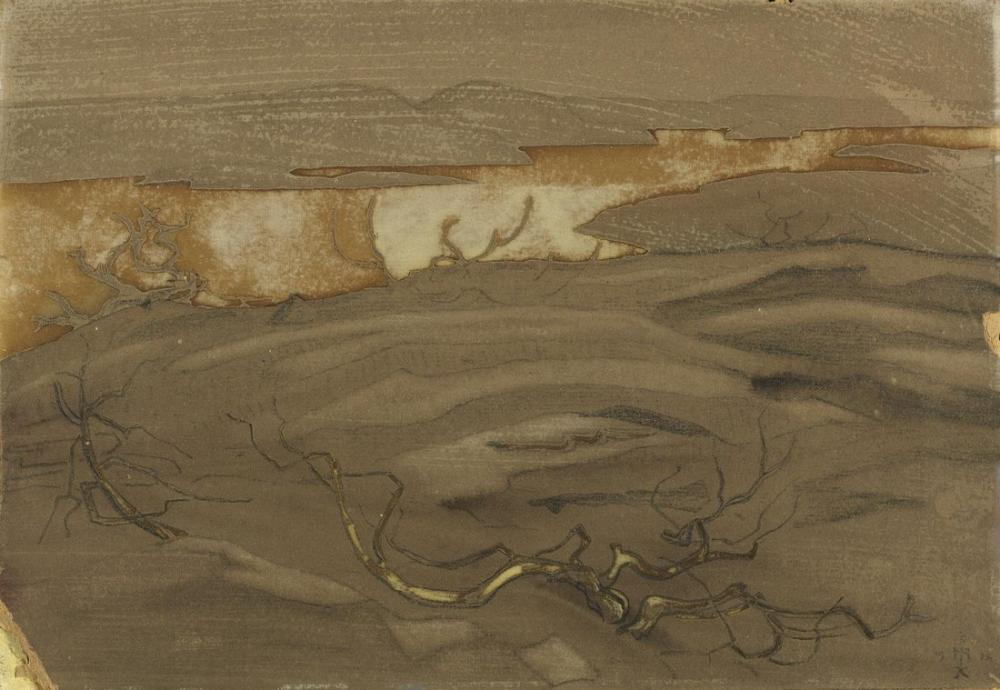 Nicholas Roerich, Ladoga Serisinden Kayalar ve Uçurumlar, Kanvas Tablo, Nicholas Roerich, kanvas tablo, canvas print sales