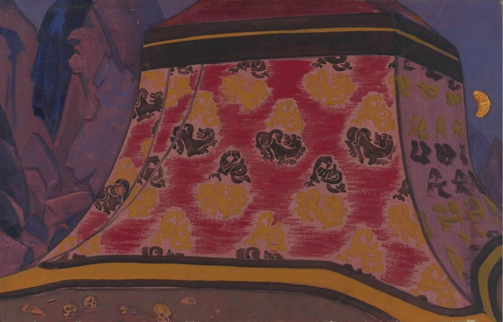 Nicholas Roerich, Gizem, Figür, Nicholas Roerich, kanvas tablo, canvas print sales