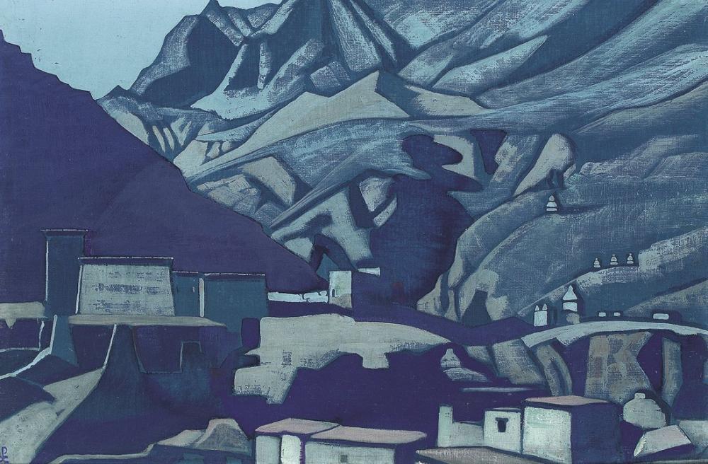 Nicholas Roerich, Mabet ve Kaleler, Kanvas Tablo, Nicholas Roerich, kanvas tablo, canvas print sales