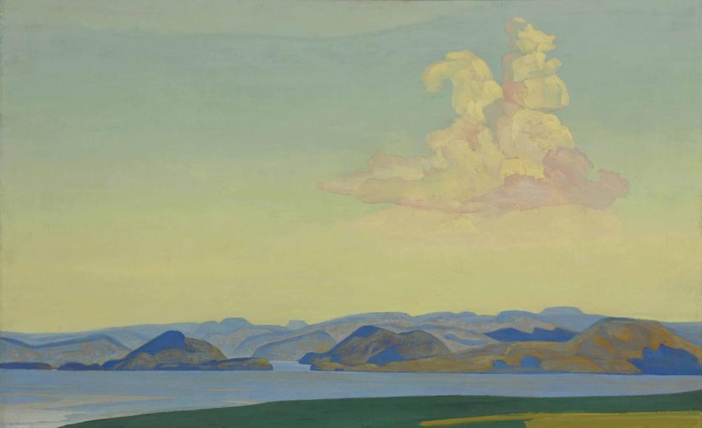Nicholas Roerich, Equet Aeternus Ser den Sabah Şövalyesi, Kanvas Tablo, Nicholas Roerich, kanvas tablo, canvas print sales