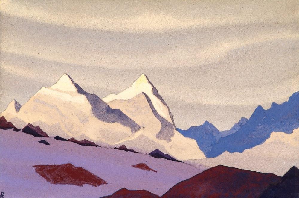 Nicholas Roerich, Western Himalayas, Canvas, Nicholas Roerich, kanvas tablo, canvas print sales