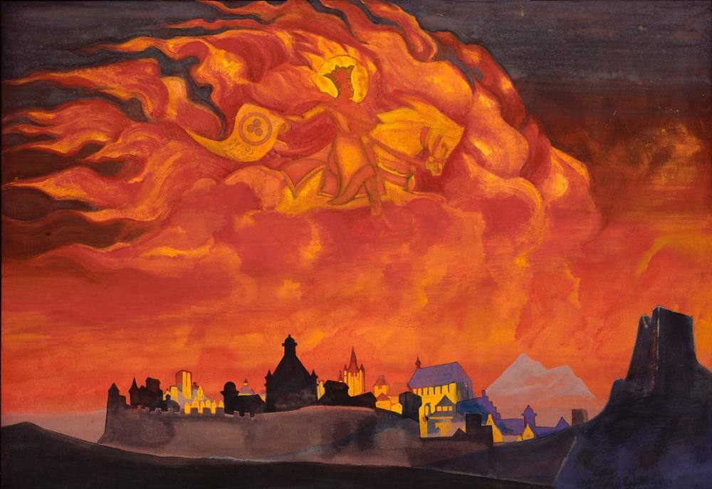Nicholas Roerich, St Sophia the Almighty Wisdom, Canvas, Nicholas Roerich, kanvas tablo, canvas print sales