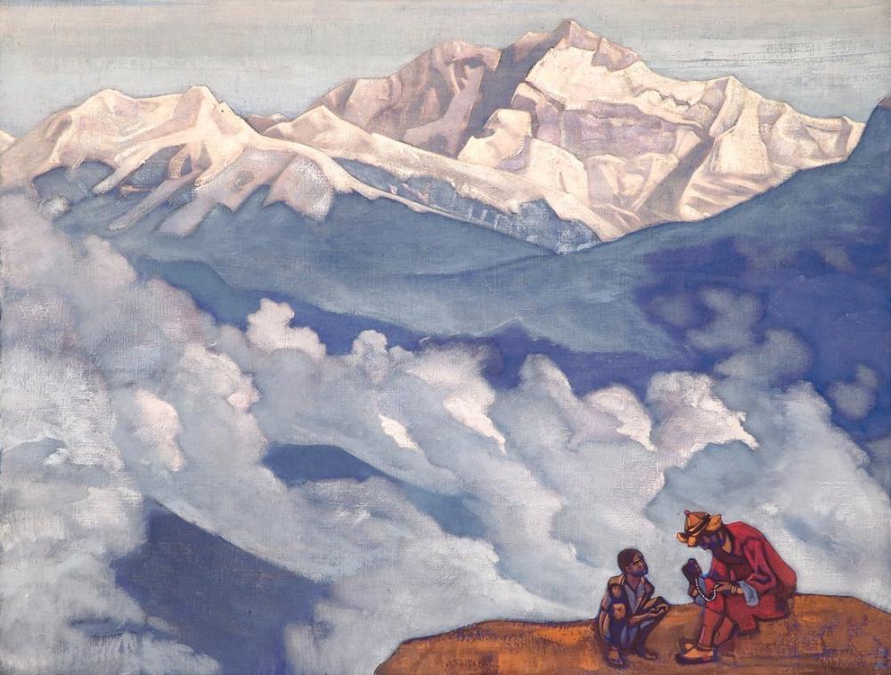 Nicholas Roerich, Pearl of Searching, Canvas, Nicholas Roerich, kanvas tablo, canvas print sales