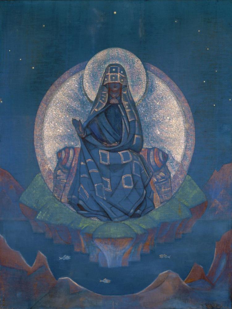 Nicholas Roerich, Dünyanın Annesi, Kanvas Tablo, Nicholas Roerich, kanvas tablo, canvas print sales