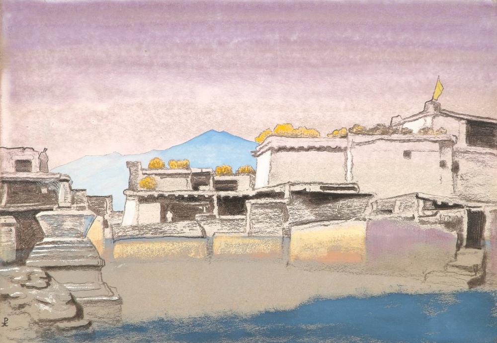 Nicholas Roerich, Kardang, Canvas, Nicholas Roerich, kanvas tablo, canvas print sales