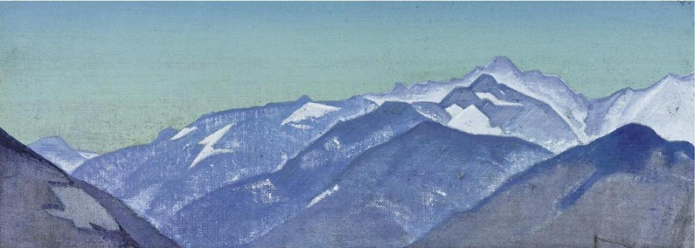 Nicholas Roerich, Babu Pass from the Series Kulu, Canvas, Nicholas Roerich, kanvas tablo, canvas print sales