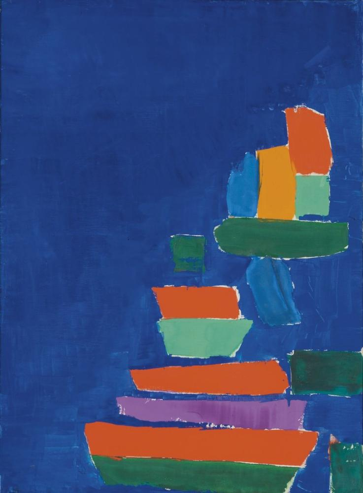 Nicolas De Stael Marseille 1954, Canvas, Nicolas de Staël, nds04