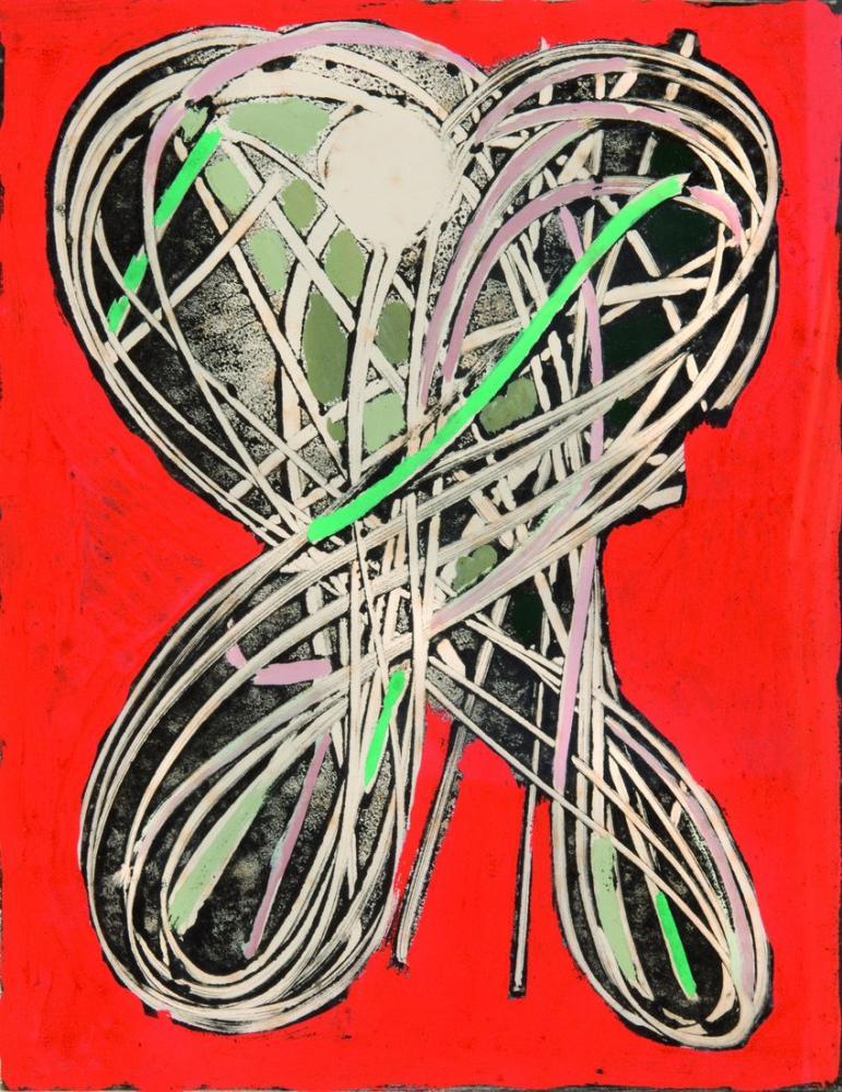 Nicolas De Stael Composition On Red, Canvas, Nicolas de Staël, kanvas tablo, canvas print sales