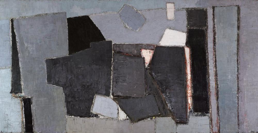 Nicolas De Stael Çatlak Ölçeğin Keşfi, Kanvas Tablo, Nicolas de Staël, kanvas tablo, canvas print sales