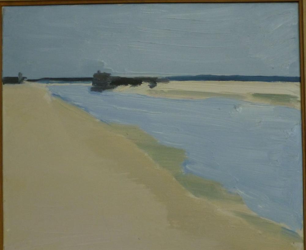 Nicolas De Stael Beach, Canvas, Nicolas de Staël, nds31