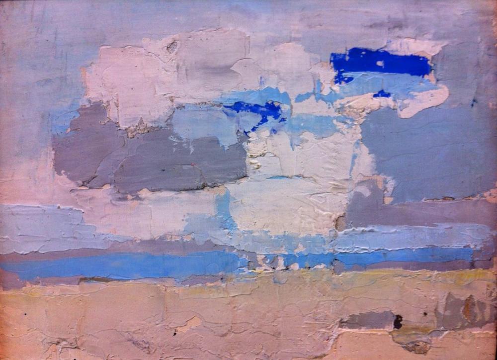 Nicolas De Stael Clouds, Canvas, Nicolas de Staël, kanvas tablo, canvas print sales