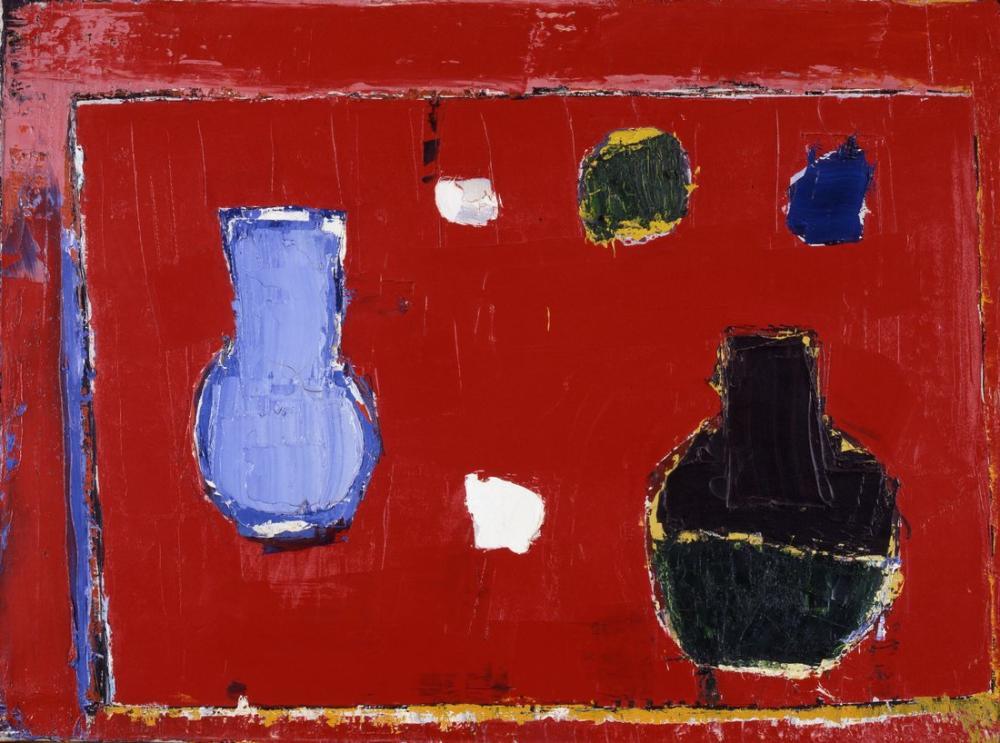 Nicolas De Stael Table Rouge, Canvas, Nicolas de Staël, nds43