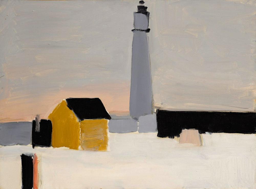 Nicolas De Stael Lighthouse, Canvas, Nicolas de Staël, nds47