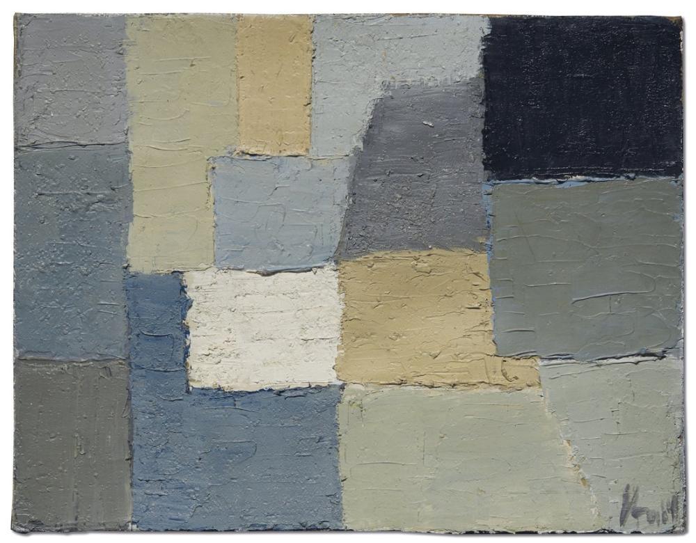 Nicolas De Stael Composition 1950, Canvas, Nicolas de Staël, kanvas tablo, canvas print sales