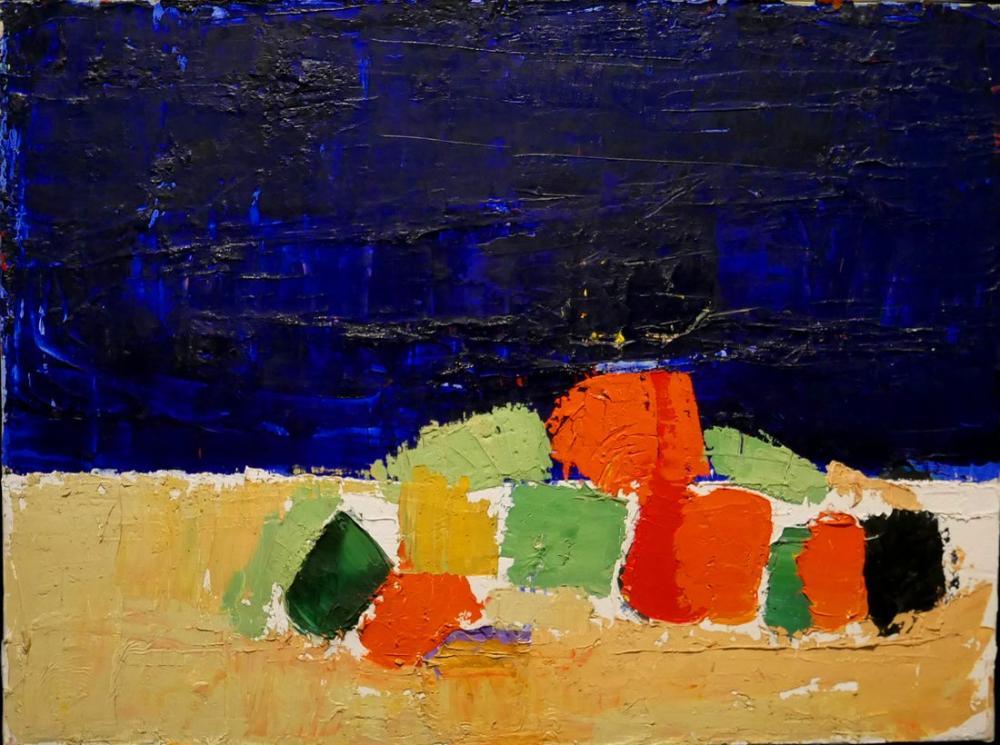 Nicolas De Stael Paris Kahvaltı, Kanvas Tablo, Nicolas de Staël, kanvas tablo, canvas print sales