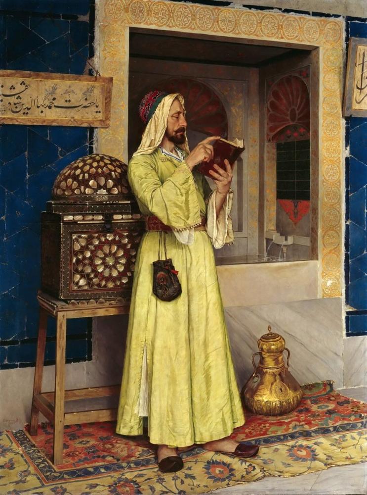 Ab-ı Hayat Çesmesi, Osman Hamdi Bey, Kanvas Tablo, Osman Hamdi Bey, kanvas tablo, canvas print sales