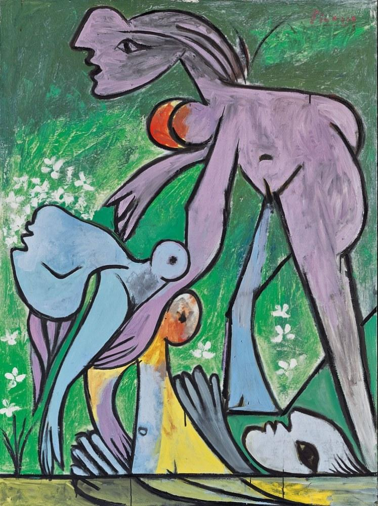 Pablo Picasso Kurtarış, Figür, Pablo Picasso, kanvas tablo, canvas print sales
