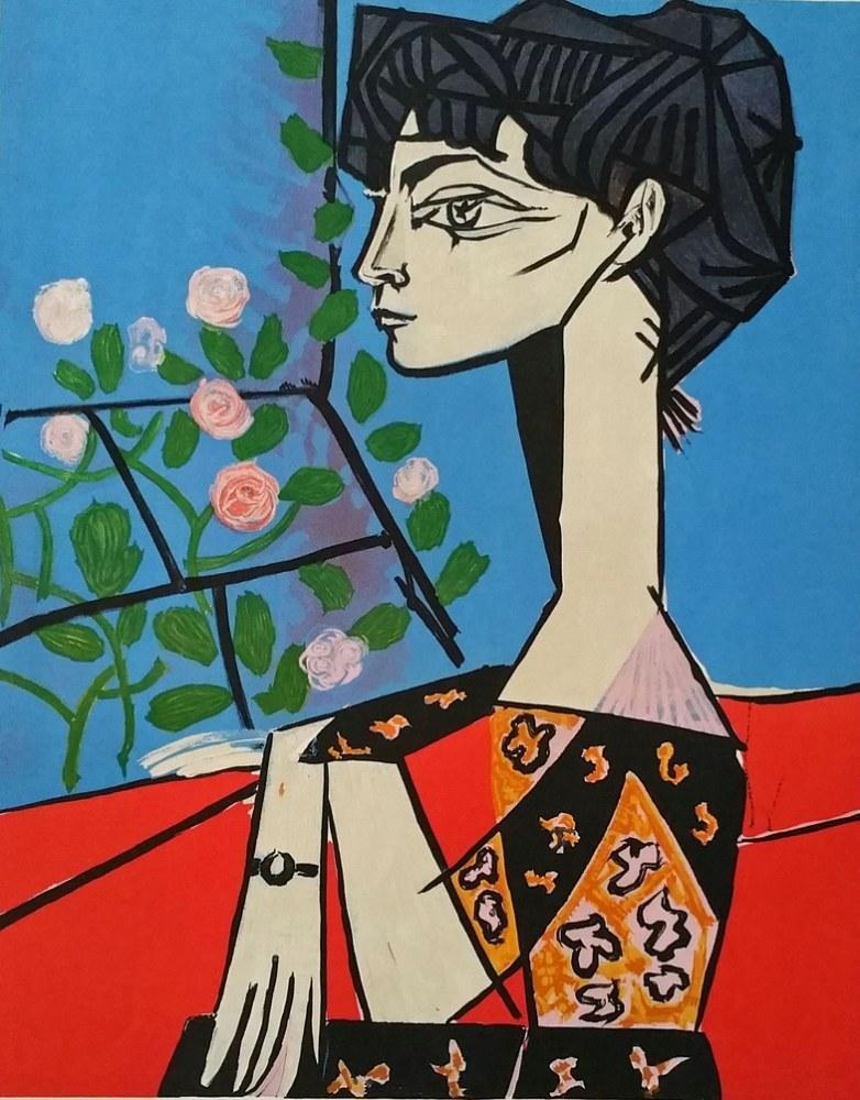 Pablo Picasso Jacqueline, Kanvas Tablo, Pablo Picasso, kanvas tablo, canvas print sales