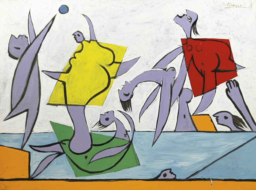 Pablo Picasso Kurtarma Kanvas Tablo, Figür, Pablo Picasso, kanvas tablo, canvas print sales