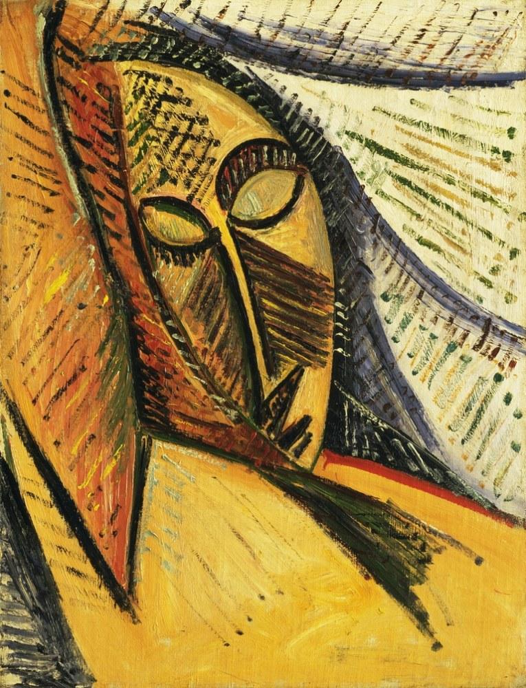Pablo Picasso Uyuyan Kadın, Figür, Pablo Picasso, kanvas tablo, canvas print sales