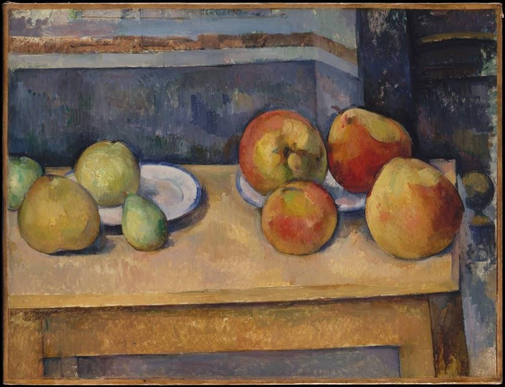 Paul Cezanne Elma ve armut ile natürmort, Kanvas Tablo, Paul Cezanne, kanvas tablo, canvas print sales