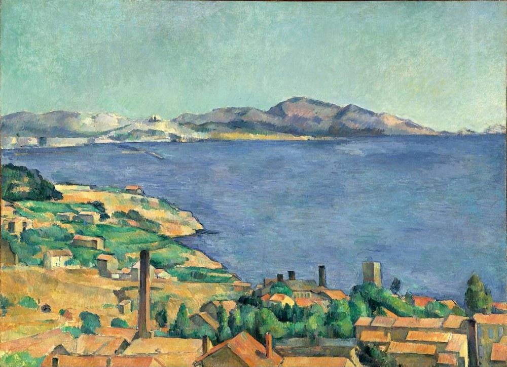 Paul Cezanne Marsilya Körfezi, Kanvas Tablo, Paul Cezanne, kanvas tablo, canvas print sales