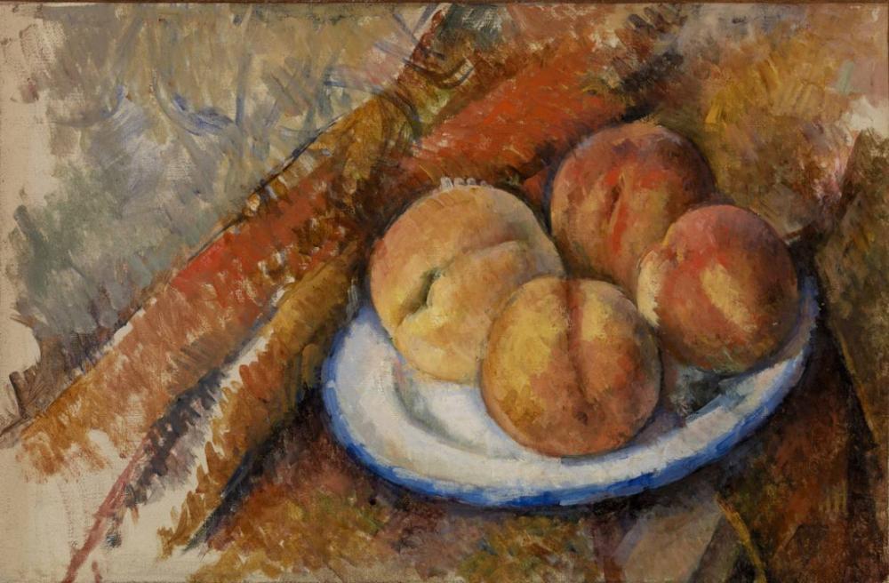 Tabakta Dört Şeftali, Kanvas Tablo, Paul Cezanne, kanvas tablo, canvas print sales