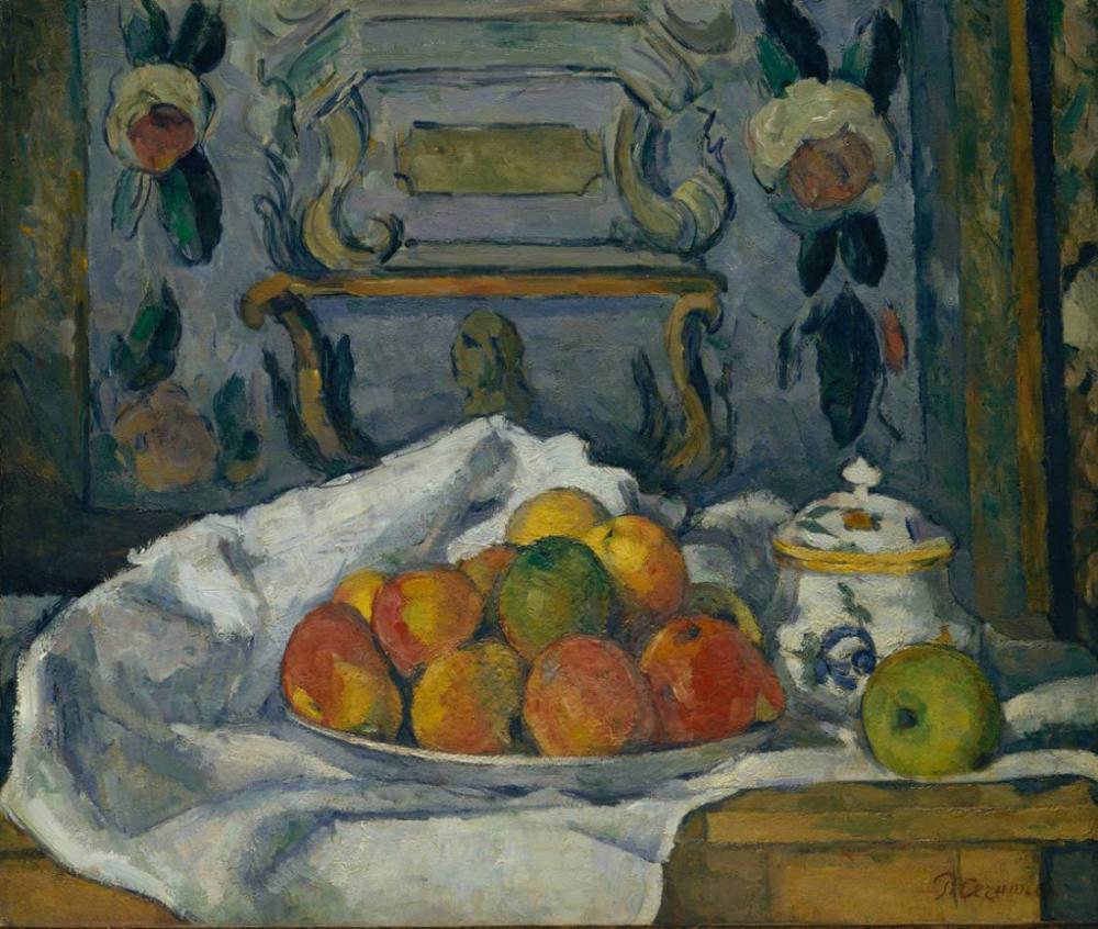 Bir tabak Elma tablosu, Kanvas Tablo, Paul Cezanne, kanvas tablo, canvas print sales
