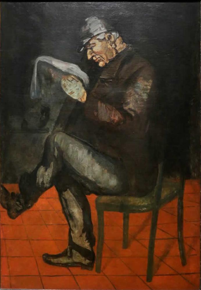 Sanatçının Babası Louis Auguste, Kanvas Tablo, Paul Cezanne, kanvas tablo, canvas print sales