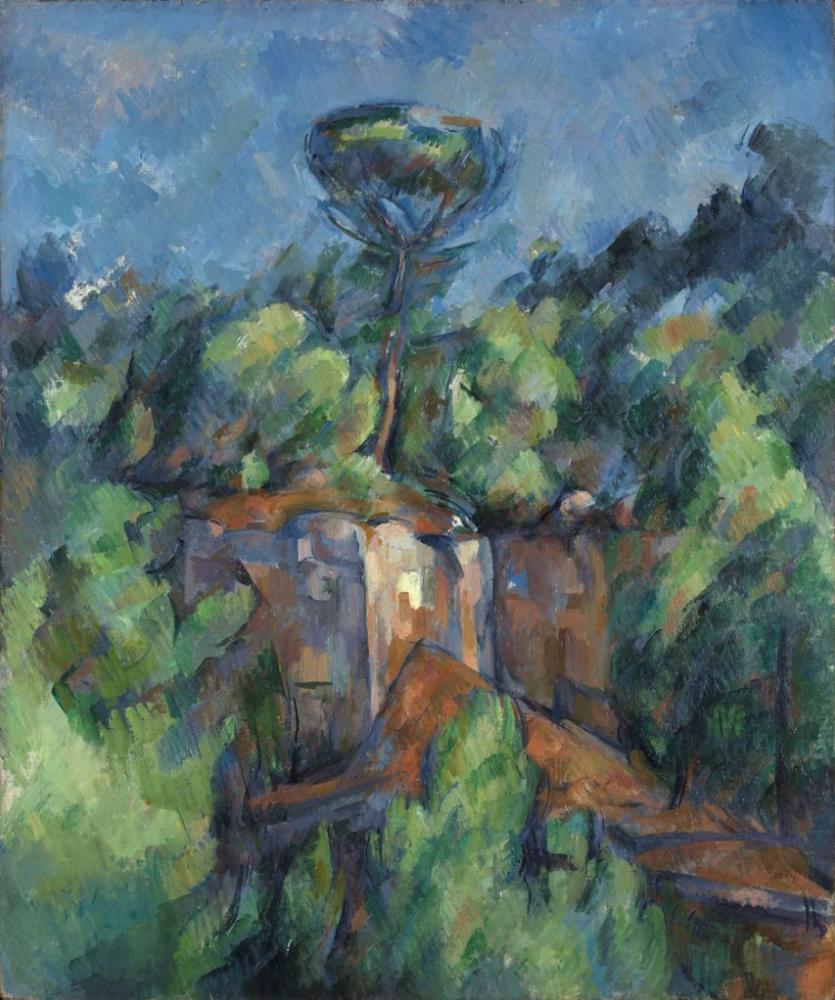 Carriere de Bibemus Paul Cezanne, Canvas, Paul Cezanne, kanvas tablo, canvas print sales