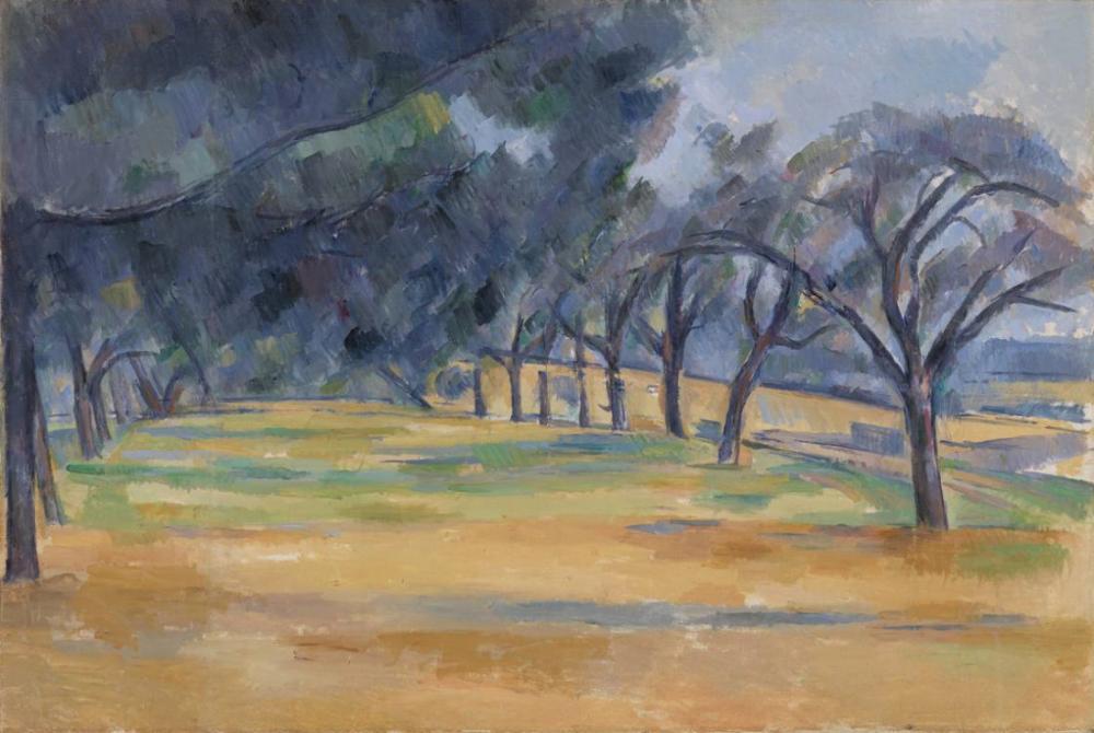 Marines deki Araba Yolu - Paul Cezanne, Kanvas Tablo, Paul Cezanne, kanvas tablo, canvas print sales