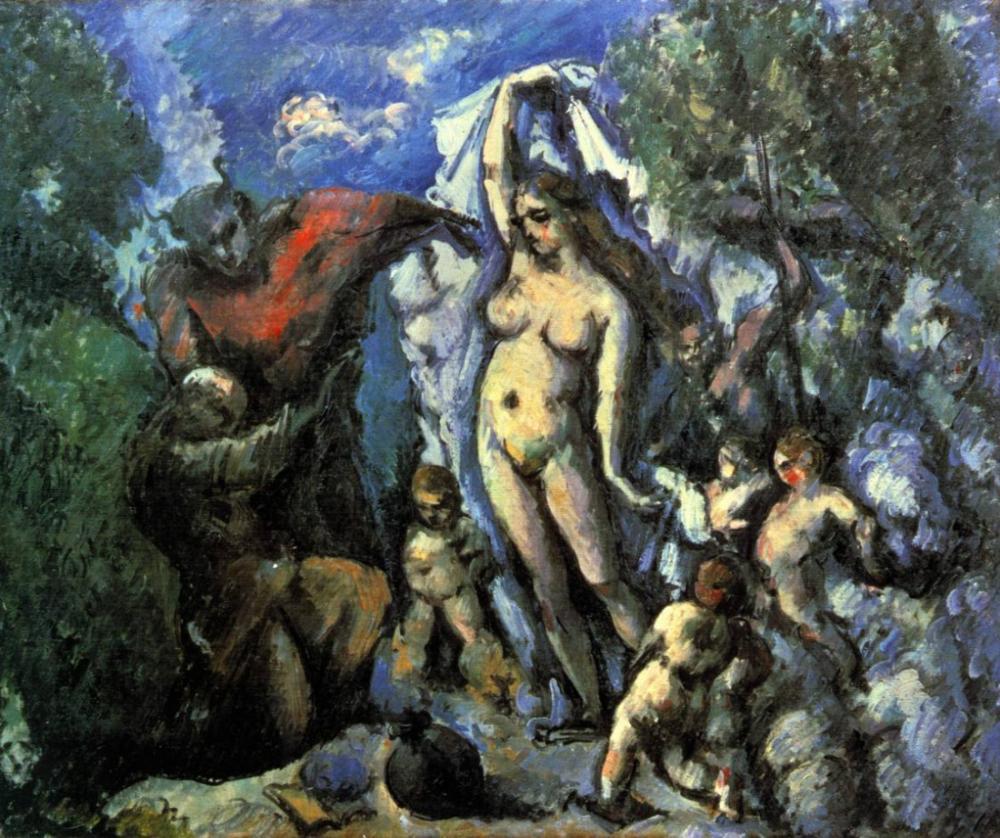 Aziz Anthony Günahı - Cezanne, Kanvas Tablo, Paul Cezanne, kanvas tablo, canvas print sales