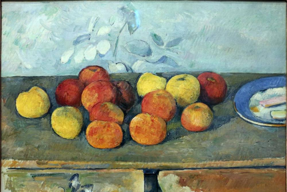 Apples and biscuits Paul Cezanne, Canvas, Paul Cezanne, kanvas tablo, canvas print sales