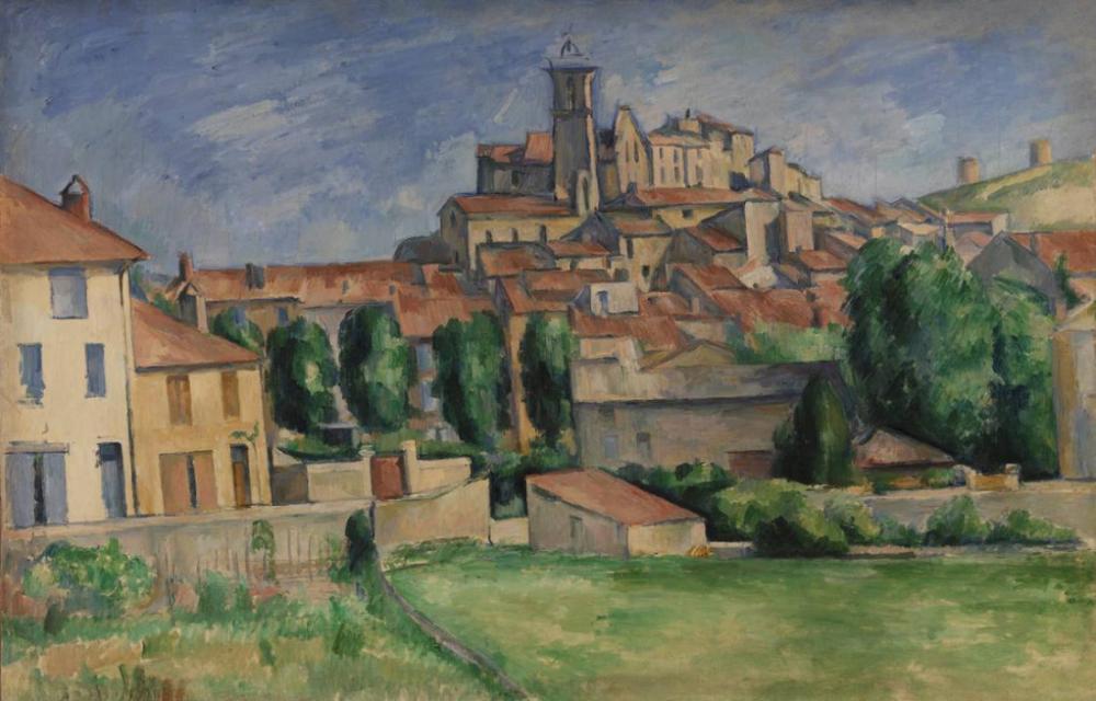 Gardanne - Paul Cezanne, Canvas, Paul Cezanne, kanvas tablo, canvas print sales