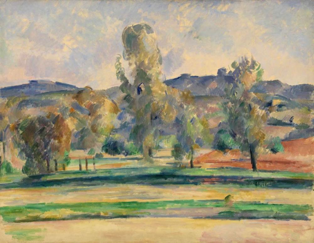 Autumn Landscape- Paul Cezanne, Canvas, Paul Cezanne, kanvas tablo, canvas print sales