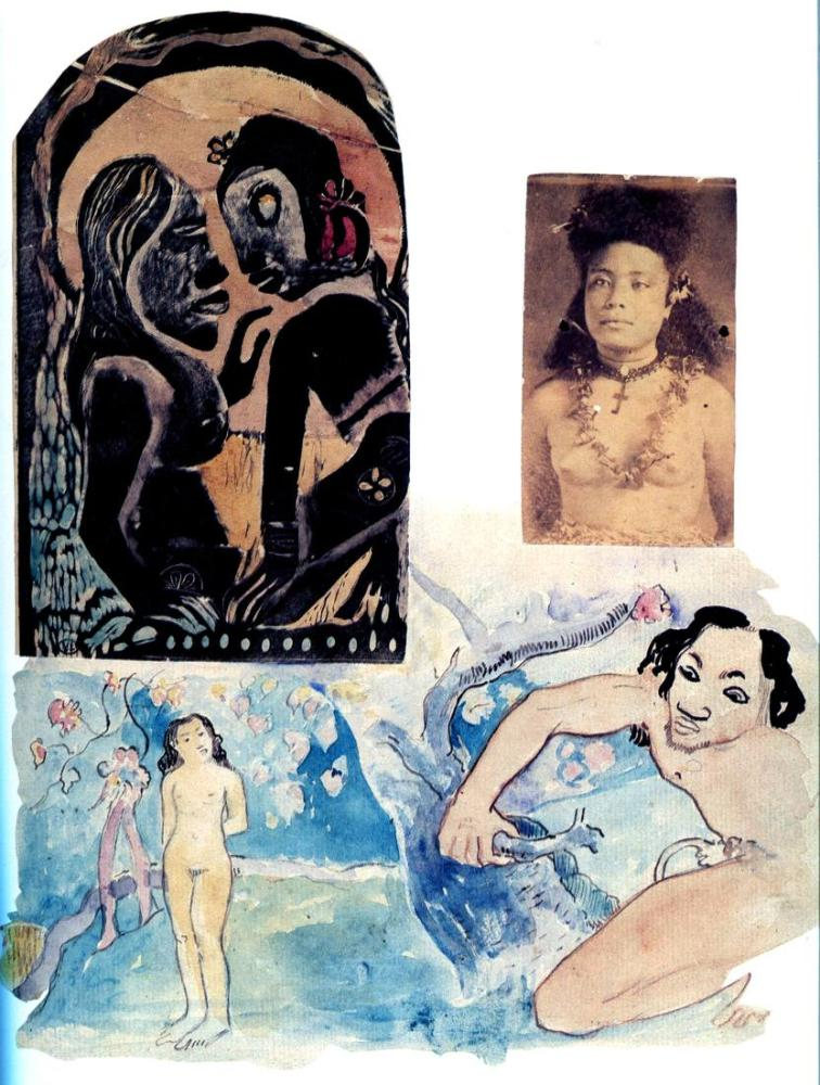 Album Noa- Paul Gauguin, Kanvas Tablo, Paul Gauguin, kanvas tablo, canvas print sales