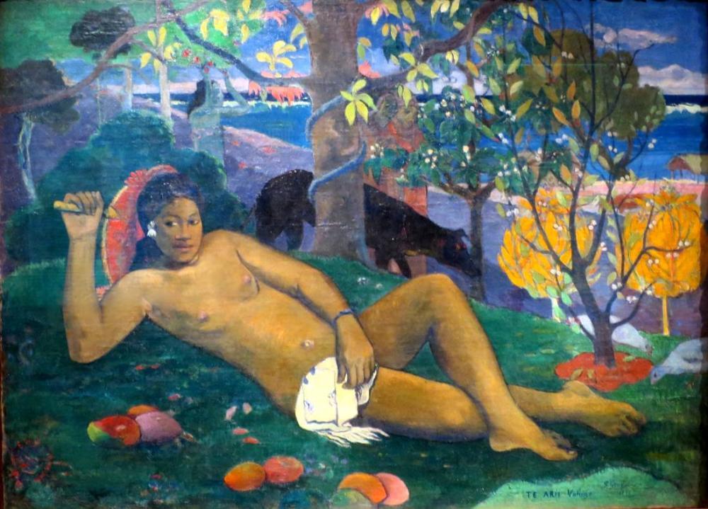 Hoş bayan- Paul Gauguin, Kanvas Tablo, Paul Gauguin, kanvas tablo, canvas print sales
