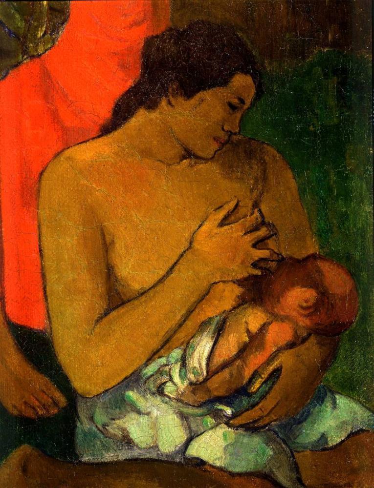 Maternity-Paul Gauguin, Canvas, Paul Gauguin, kanvas tablo, canvas print sales