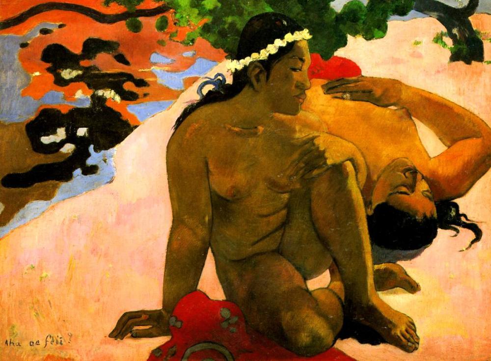 You are jealous - Paul Gauguin, Canvas, Paul Gauguin, kanvas tablo, canvas print sales