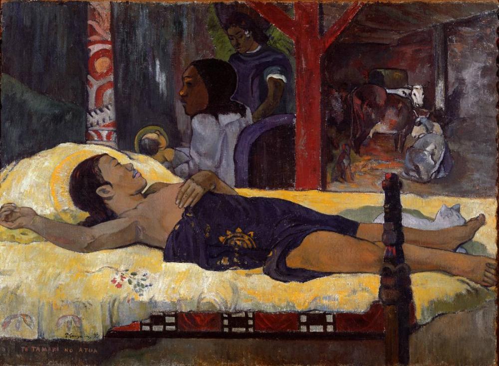 Tanrının Oğlu- Paul Gauguin, Kanvas Tablo, Paul Gauguin, kanvas tablo, canvas print sales