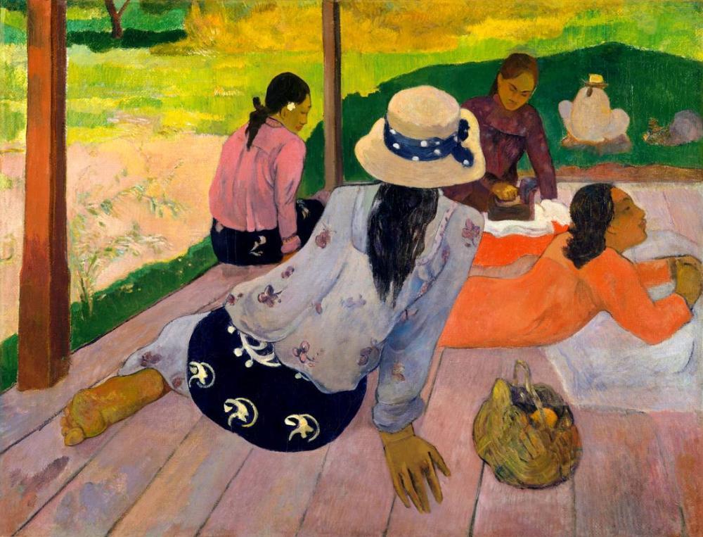 Siesta- Paul Gauguin, Kanvas Tablo, Paul Gauguin, kanvas tablo, canvas print sales