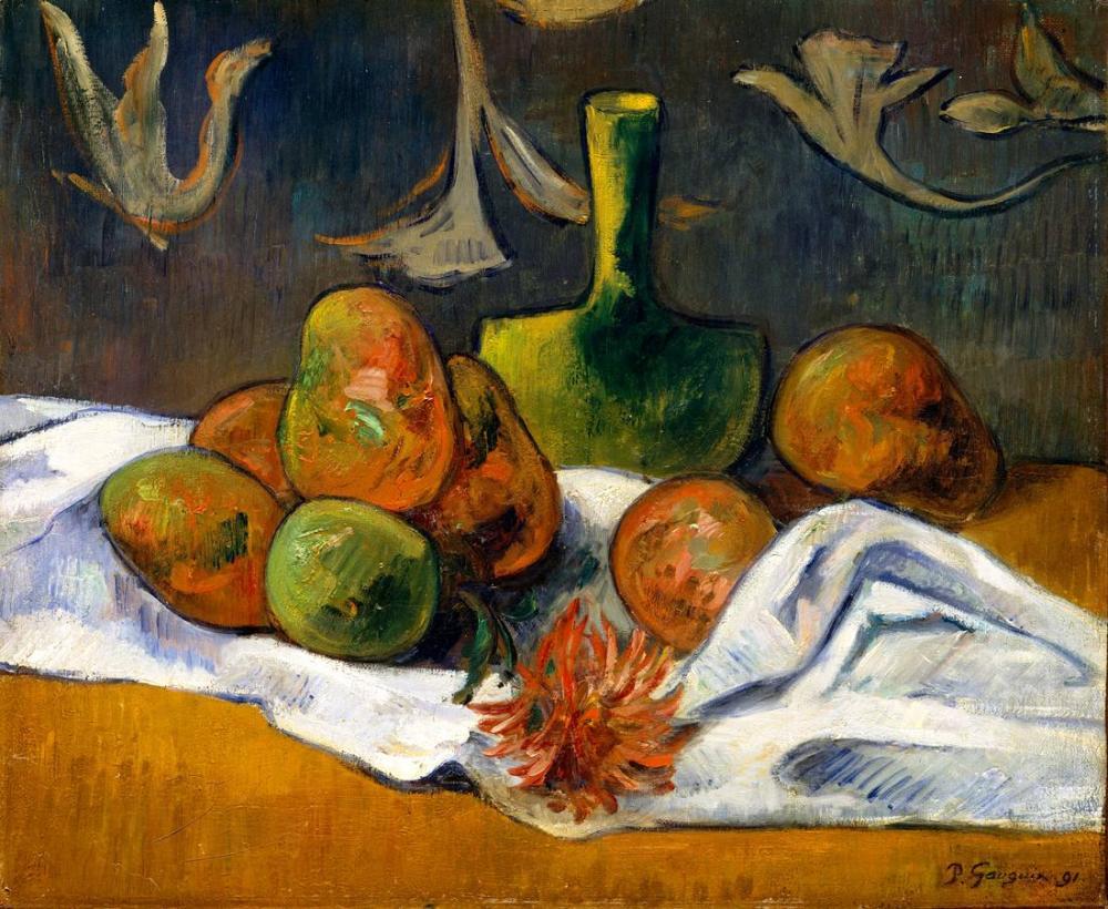 Natürmort - Paul Gauguin, Kanvas Tablo, Paul Gauguin, kanvas tablo, canvas print sales
