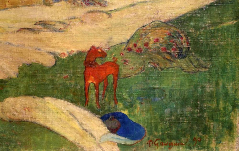 Fienagione- Paul Gauguin, Kanvas Tablo, Paul Gauguin, kanvas tablo, canvas print sales